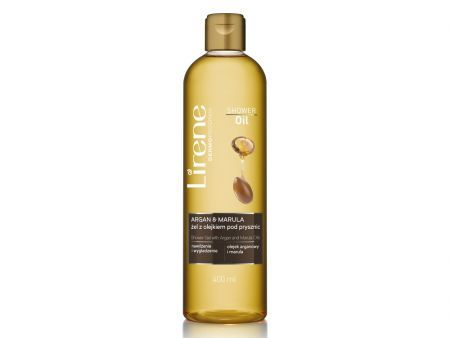 LIRENE SHOWER OIL Argan + Marula - Żel + olejek pod prysznic 400 ml