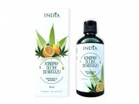 INDIA COSMETICS Konopny olejek do masażu cytrusowy 100 ml