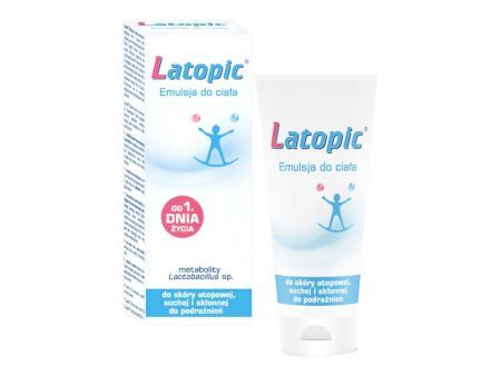 LATOPIC Emulsja do ciała 200 ml