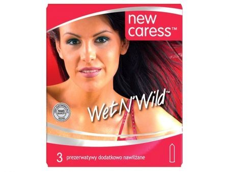 NEW CARESS WET N'WILD Prezerwatywy 3 szt.