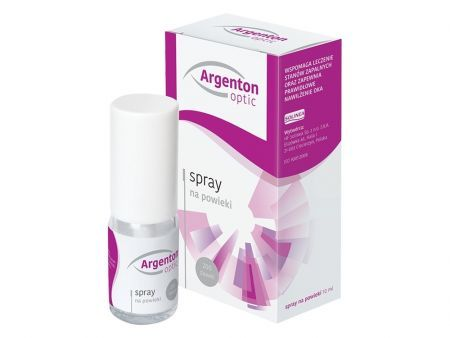 Argenton Optic spray na powieki 10 ml
