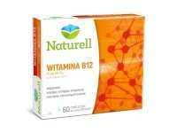 NATURELL Witamina B12 60 tabl. do ssania
