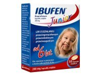 Ibufen Junior 200 mg 10 kaps.