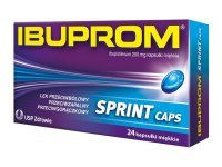 Ibuprom Sprint Caps 200 mg 10 kaps.