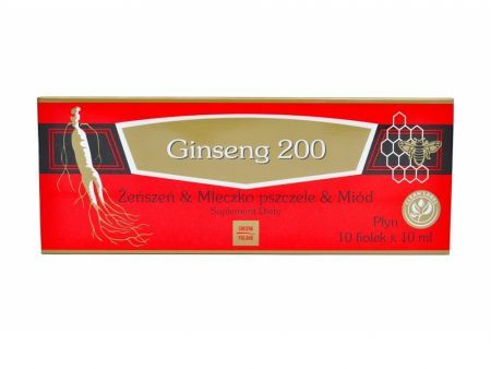 Ginseng 200 10 fiol. a 10 ml