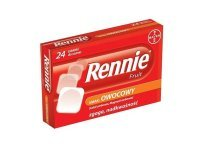 Rennie Fruit 24 tabl. do ssania